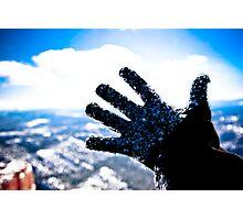 Freezing Hand Photographic Print