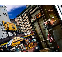 You Cannot Stop A New York Minute!!! Photographic Print