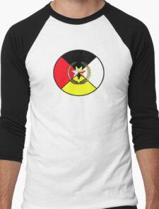 Cherokee Medicine Wheel Men's Baseball ¾ T-Shirt