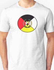 Cherokee Medicine Wheel Unisex T-Shirt