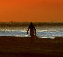 Sunset Surf by Richard Scott