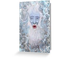 Father Yule Greeting Card