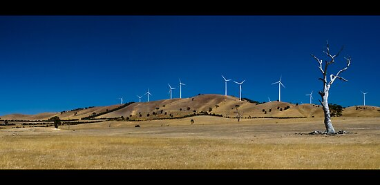 buangor wind farm by Andrew Cowell