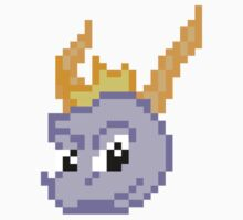 Pixel Spyro by Kate Pelletier
