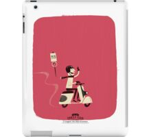 Cooper Rides a Scooter iPad Case/Skin