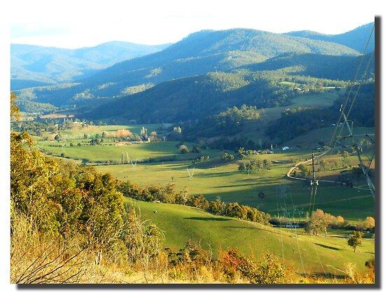 Brindabella Valley  by pedroski