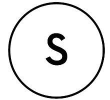 S by Tiltedgiraffes