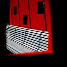 Evil Red Window by Michael Eyssens