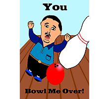 Bowling Valentine Photographic Print