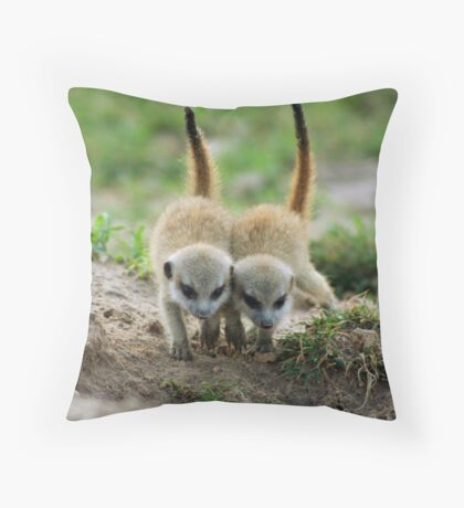 The pups Throw Pillow