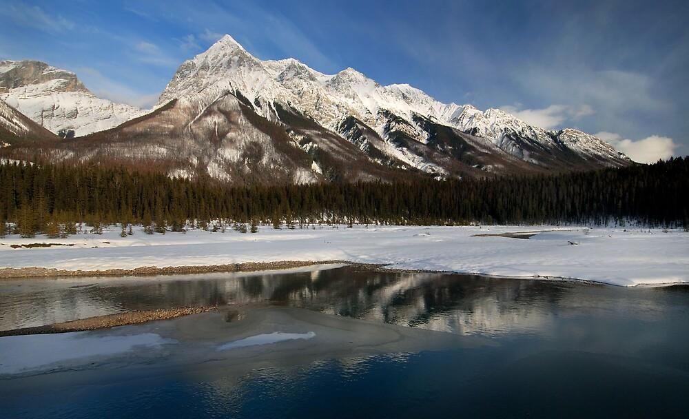 Yoho Mountains by Robert Mullner