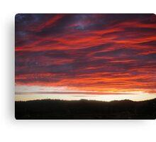 Launceston Sunset .Australia Canvas Print