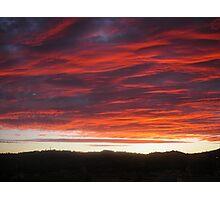 Launceston Sunset .Australia Photographic Print