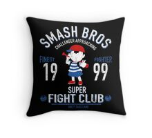 Eagleland Fighter Throw Pillow