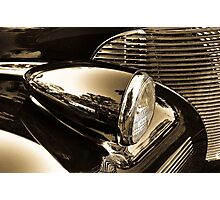 Chromed Beauty Photographic Print