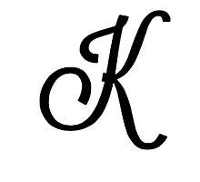 K by Tiltedgiraffes