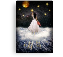 Catch a falling star Canvas Print