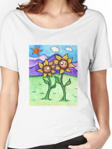 Sunflowers Women's Relaxed Fit T-Shirt