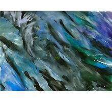 Feather Painting Photographic Print