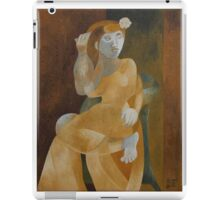 Young Woman in an Armchair iPad Case/Skin