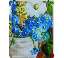 Flowers in a White Vase iPad Case/Skin