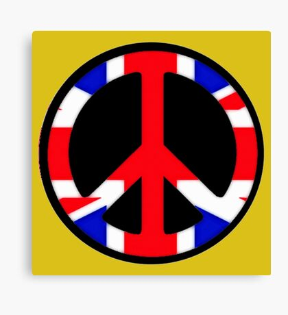 UK-PEACE Canvas Print