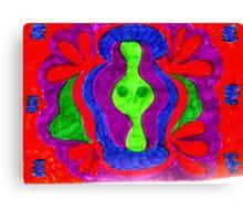 Mandala Psychedelic Canvas Print