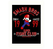 Mushroom Kingdome Fighter Art Print