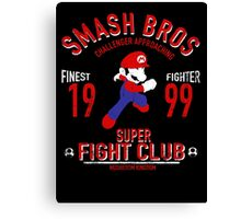 Mushroom Kingdome Fighter Canvas Print