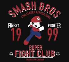 Mushroom Kingdome Fighter One Piece - Short Sleeve