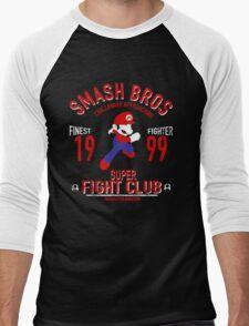 Mushroom Kingdome Fighter Men's Baseball ¾ T-Shirt