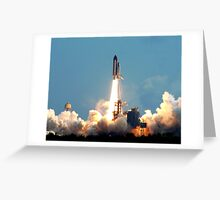 STS 120 launch. Greeting Card