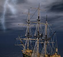 Heading Into The Storm by Lisa  Weber