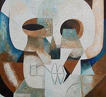 Abstract Skull #33 Nosferatu by Joseph York
