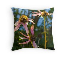 Withering Flowers Throw Pillow