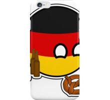 Germanyball Deutchlandball - Countryball   Polandball iPhone Case/Skin