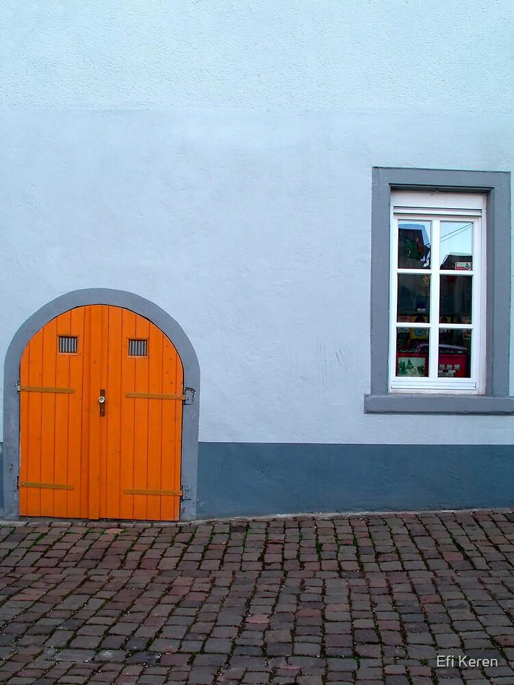 Blue house 1 by Efi Keren