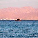 Blue Red sea by Efi Keren