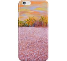 Cotton at Sunset iPhone Case/Skin