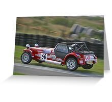 Airborne at Knockhill Greeting Card