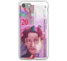 20 Swiss Francs note bill - front side iPhone Case/Skin