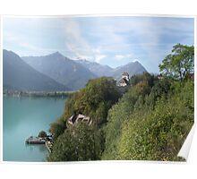 Brienz lake Poster