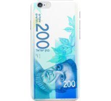 200 New Shekel edition note bill iPhone Case/Skin