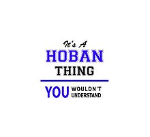 It's a HOBAN thing, you wouldn't understand !! by thenamer