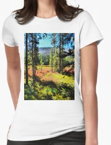 Autumn Cometh Womens Fitted T-Shirt