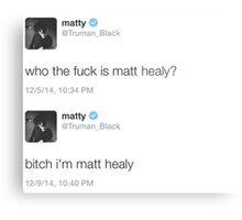 Matt Healy Metal Print