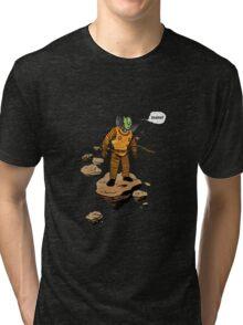 Astrozombie (no bg) Tri-blend T-Shirt