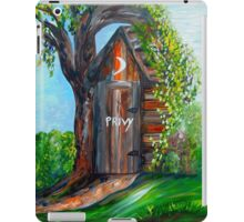 Outhouse - Privy - The Old Out House iPad Case/Skin