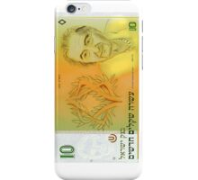 10 Old Shekel note bill iPhone Case/Skin