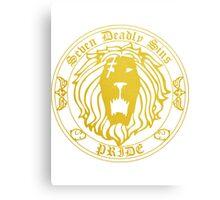 Lion's Pride Back Canvas Print